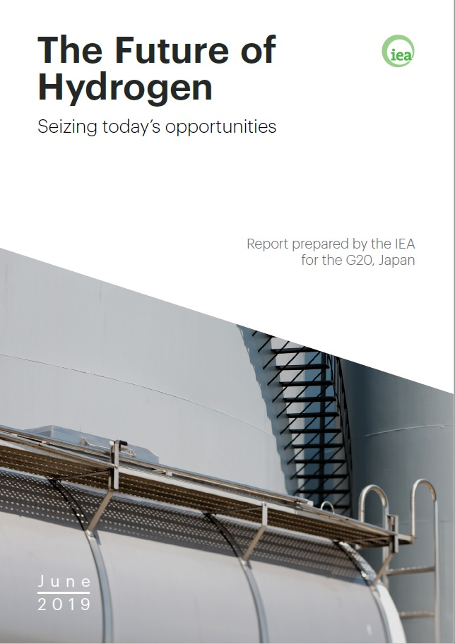 Rapport IEA 2019 : Future of hydrogen